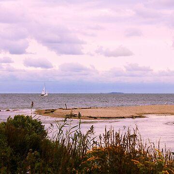 Sandbar ~ Sailboat ~ Soliloquy by SummerJade