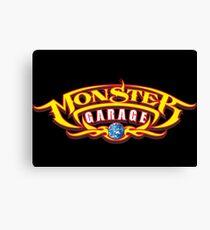 Monster Garage Merchandise Canvas Print