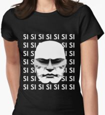 Mussolini SI SI SI Women's Fitted T-Shirt