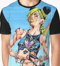 jolyne kujo tough girl Graphic T-Shirt