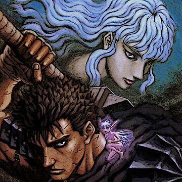 berserk guts and griffith by VAP0RWEAR