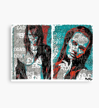 Incarnata Diptych #33 Canvas Print