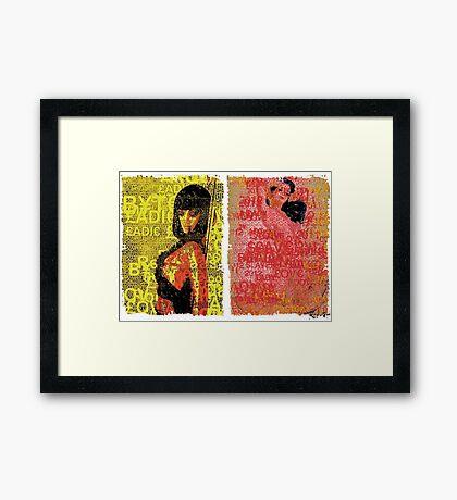Incarnata Diptych #27 Framed Print
