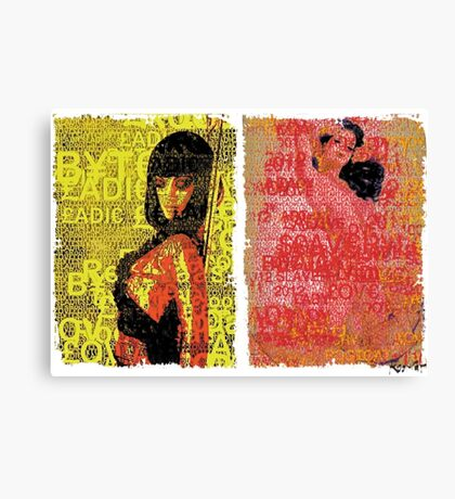 Incarnata Diptych #27 Canvas Print