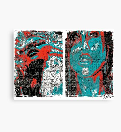 Incarnata Diptych #25 Canvas Print