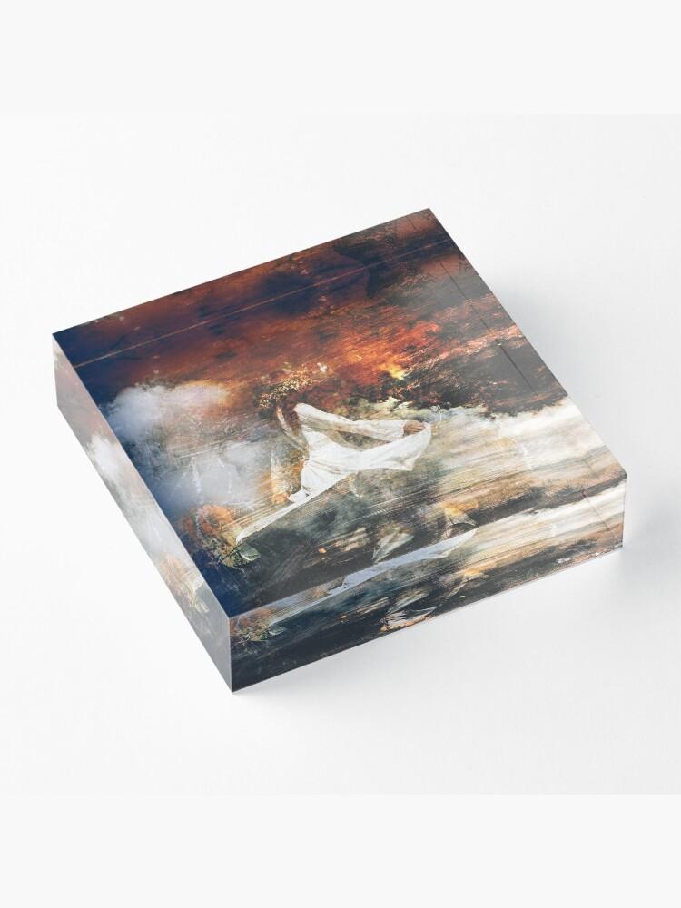 Alternate view of Perséphone Acrylic Block