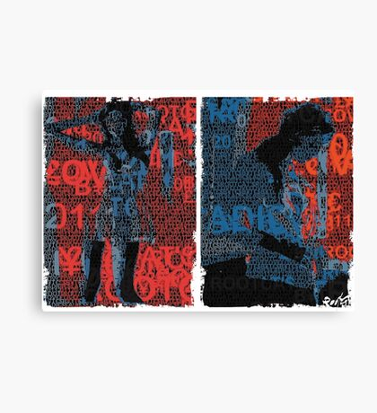 Incarnata Diptych #12 Canvas Print