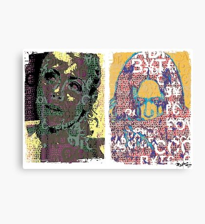 Incarnata Diptych #9 Canvas Print