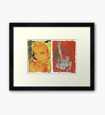 Incarnata Diptych #3 Framed Print
