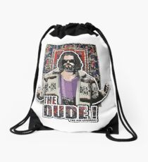 the big lebowski Drawstring Bag