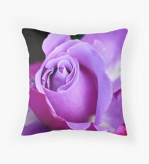 French Mauve Throw Pillow