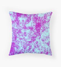 Acid Wash Galaxy Throw Pillow