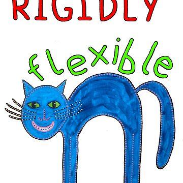 Rigidly Flexible Cat by DreamLizard