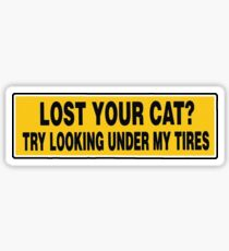 Lost Your Cat? Sticker