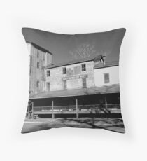 Central Roller Mill 2 Throw Pillow