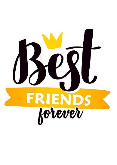 Quot Best Friends Forever Bff Quot Posters By Mukiit Redbubble