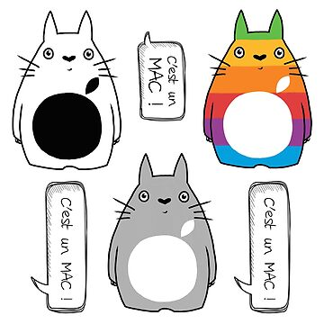 «Totoro-Apple Pack» par clairemilliet