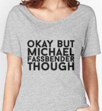 Michael Fassbender Women's Relaxed Fit T-Shirt
