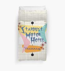 Stardust Motor Hotel (Bkgrnd) Duvet Cover