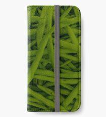 Green Beans iPhone Wallet/Case/Skin