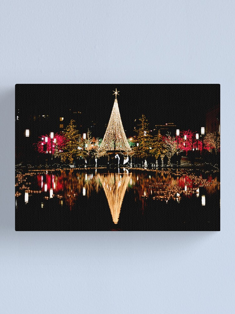 Alternate view of Christmas Reflections  Canvas Print