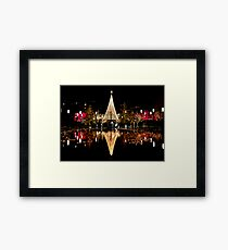 Christmas Reflections  Framed Print