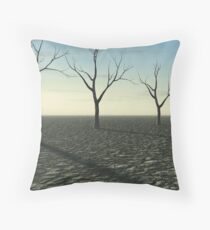 Environmental Disaster Throw Pillow
