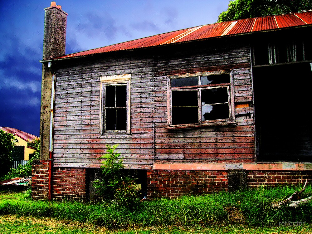 Dilapidated by reflector
