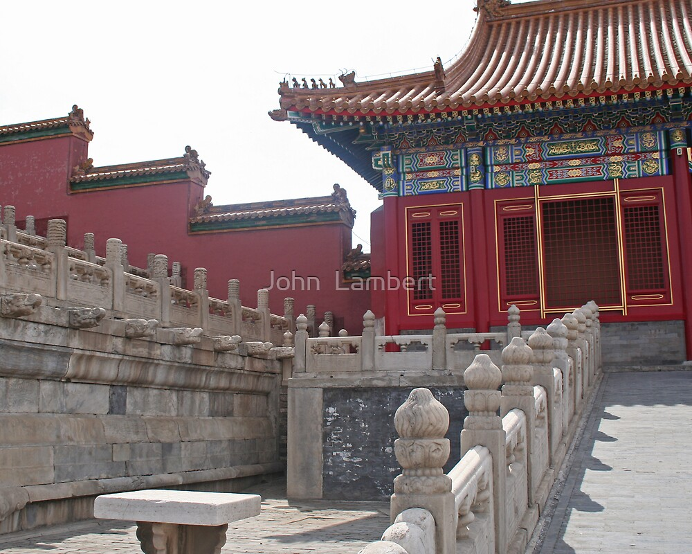 Concubines' residence in the Imperial Winter Palace, Beijing by John  Lambert