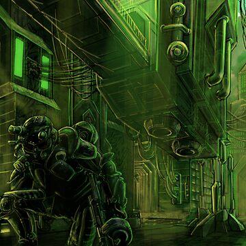 The Green Ninja by Evmo