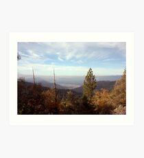 Sierra Foothills Art Print