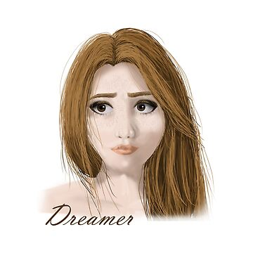 Dreamer girl by oceaneplrd