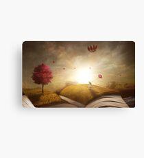 Book Adventurer Canvas Print