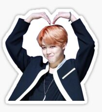 park jimin heart  Sticker