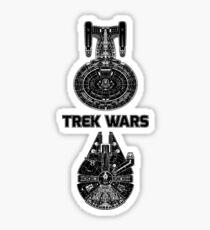 Trek Wars Sticker