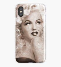 Marilyn Danella Ice Sepia iPhone Case/Skin