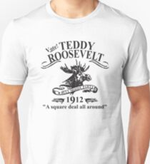 Teddy Roosevelt Bull Moose Party  Unisex T-Shirt