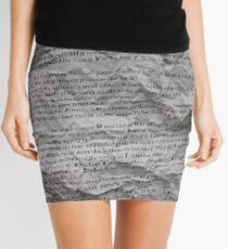 Time Mini Skirt