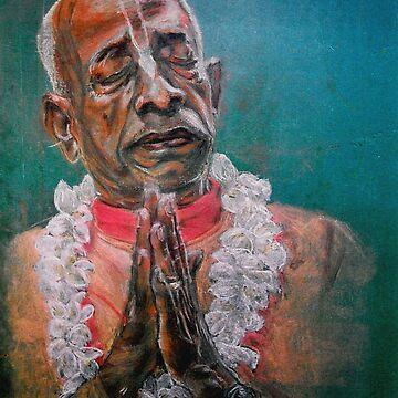 Srila Prabhupad by AlexBilbija