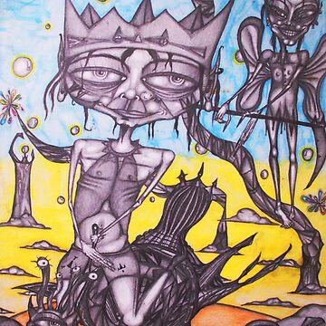 Psylocibic Snail Trek by Berad