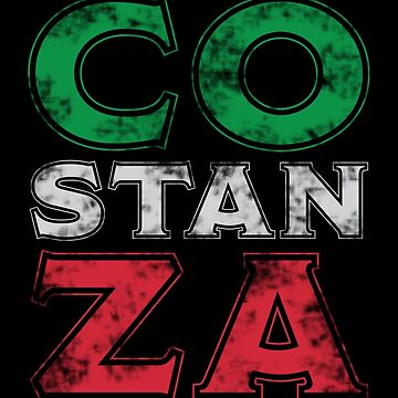 Costanza Italian Flag Colors by creationseven
