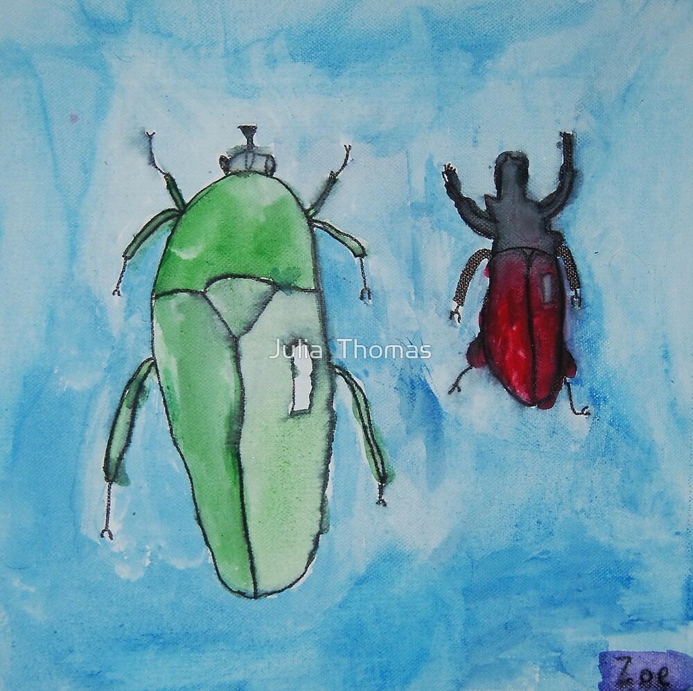 I Love Bugs by Zoe Thomas age 7 by Julia  Thomas