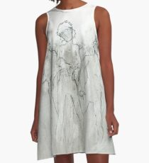Sketchy Zombies A-Line Dress