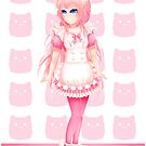 Momoko - Cafe Maid - 2017 by devicatoutlet
