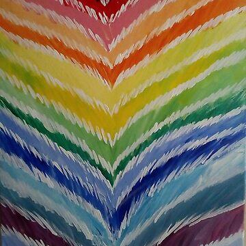 Rainbow by Gretchen Smith by tallartist