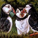 Puffin Lunch by Susan McKenzie Bergstrom