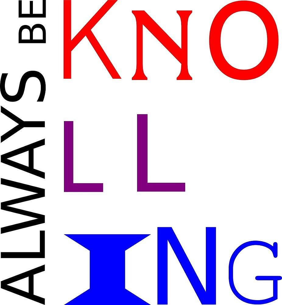 ALWAYS BE KNOLLING 2 by Upbeat