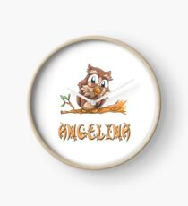 Angelina Owl Clock