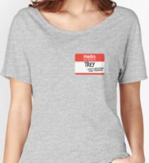 hi, my name is trey vine Women's Relaxed Fit T-Shirt