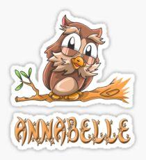 Annabelle Owl Sticker